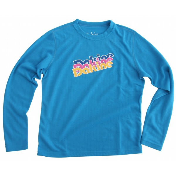 Dakine Midweight Pullover Crew Turquoise U.S.A. & Canada