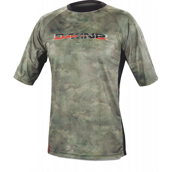 Dakine Rail S / S Bike Jersey Timber U.S.A. & Canada