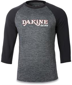 Dakine Roots Loose Fit 3/4 Sleeve Raglan Rashguard