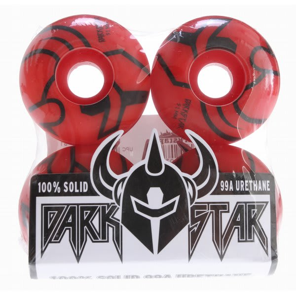 Darkstar Outline Price night Skateboard Wheels Red 51Mm U.S.A. & Canada