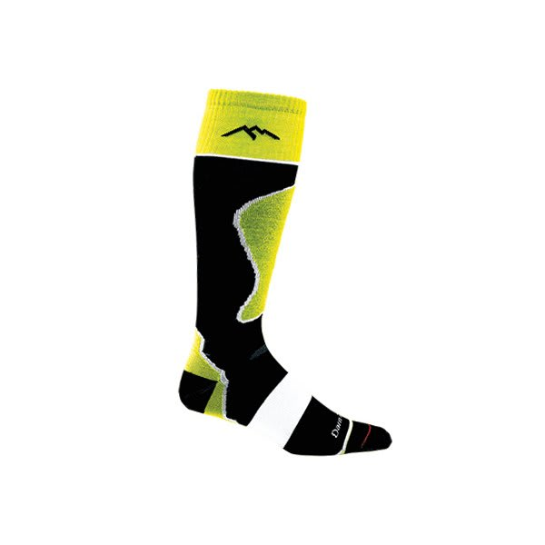 Darn Tough Otc Padded Cushion Socks Groovy Green U.S.A. & Canada