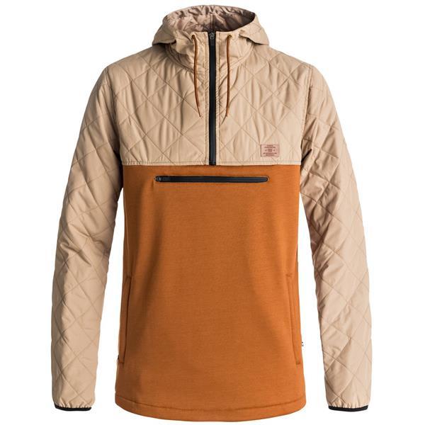 DC Mens Barricade Snow Pullover Quarter Zipper Fleece Jacket