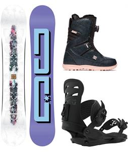 DC Biddy Snowboard Package