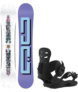 DC Biddy Snowboard w/ Union Rosa Bindings
