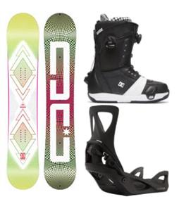 DC Biddy Step On Snowboard Package
