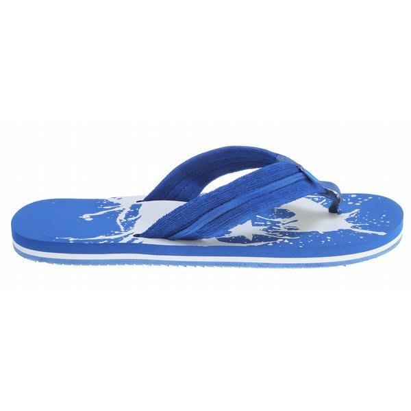 Dc Central Sandals Royal Blue / White U.S.A. & Canada