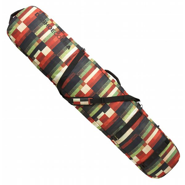 Dc Daylugger Boardbag Red Multi Plaid U.S.A. & Canada