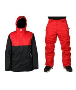 DC Defy 2 Snowboard Jacket w/ Snow Chino Pants