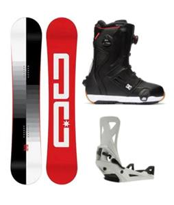DC Focus Step On Snowboard Package
