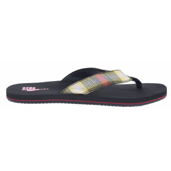 Dc Habit Tp Sandals Black / Red Plaid U.S.A. & Canada