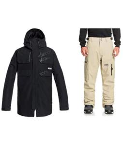 DC Haven Snowboard Jacket w/ Division Pants