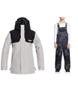 DC Haven Snowboard Jacket w/ Roadblock Bib Pants