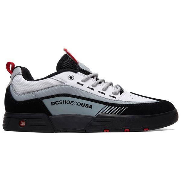 Black//White//Red DC Men/'s Legacy 98 Slim Skateboarding Skate Shoes