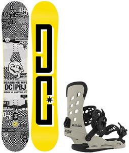 DC PBJ Snowboard w/ Union STR Bindings