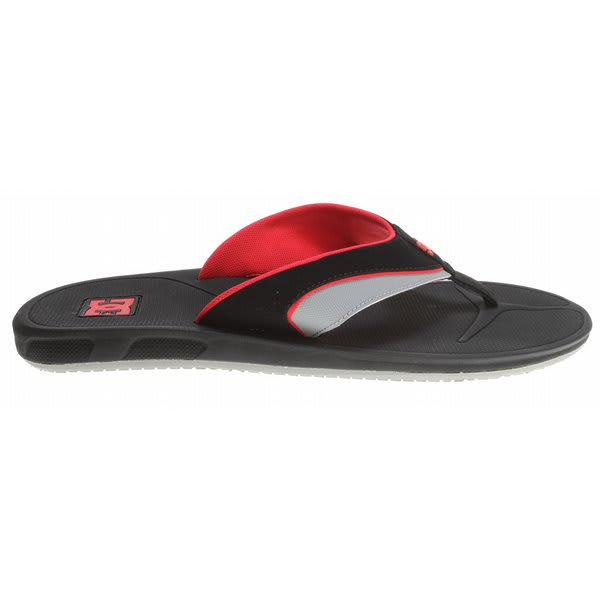Dc Peru Sandals Black / Athletic Red U.S.A. & Canada