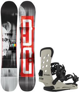 DC Ply Snowboard w/ Union STR Bindings
