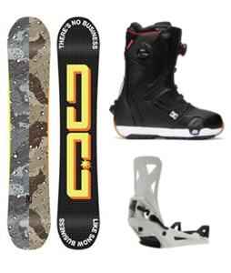 DC Ply Step On Snowboard Package
