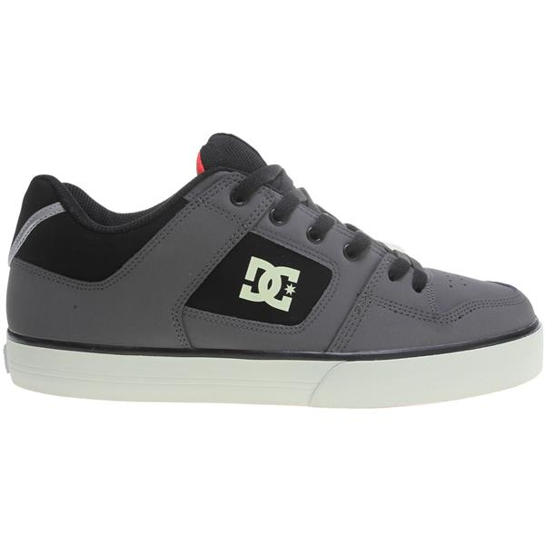 Dc Pure Se Skate Shoes Black / Glow U.S.A. & Canada