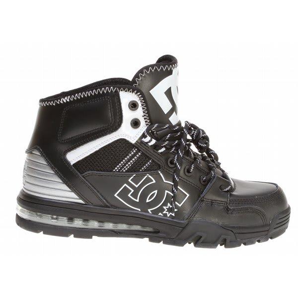 Dc Versatile Hi Wr Shoes Black / White / Metallic Silver U.S.A. & Canada