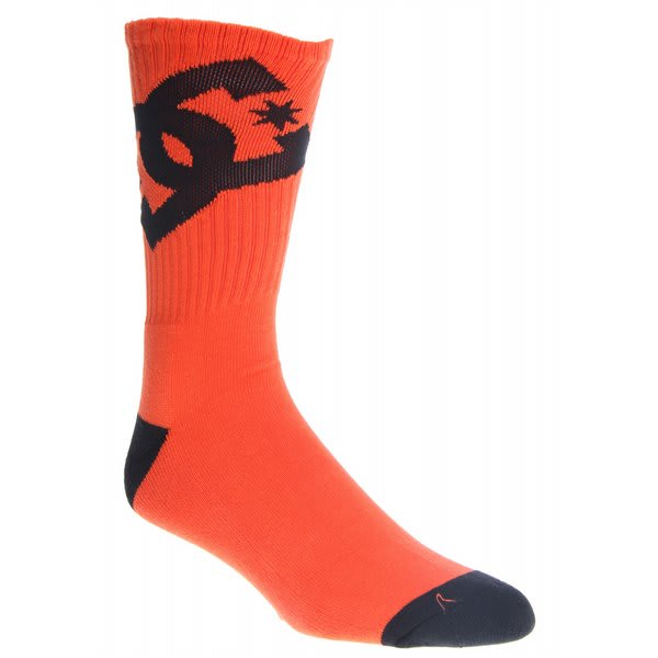 Dc Ya Brah 5 Socks Orange U.S.A. & Canada