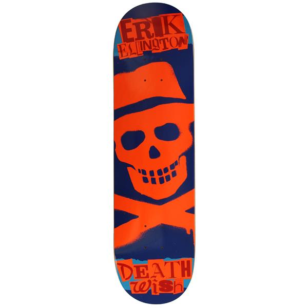 Deathwish Erik Ellington Ransom Skateboard Blue / Orange U.S.A. & Canada