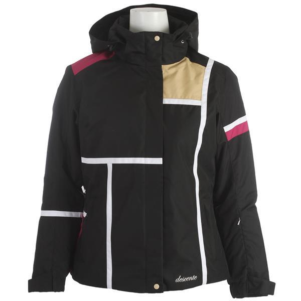 Descente Alexis Ski Jacket Black U.S.A. & Canada