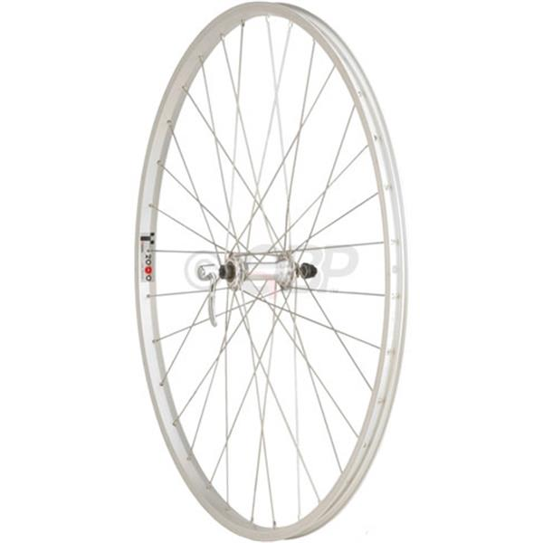 Dimension Value Series 1 Front Wheel Formula / Alex Y2000 Bike Wheel Silver 700C U.S.A. & Canada
