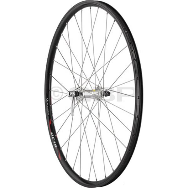 Dimension Value Series 2 Rear Wheel Shimano Rm60 Silver / Alex Dc19 Bike Wheel Black 26In U.S.A. & Canada