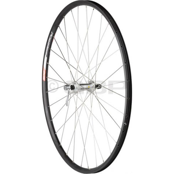 Dimension Value Series 2 Front Wheel Shimano 2200 Silver / Alex Dc19 Bike Wheel Black 700C U.S.A. & Canada