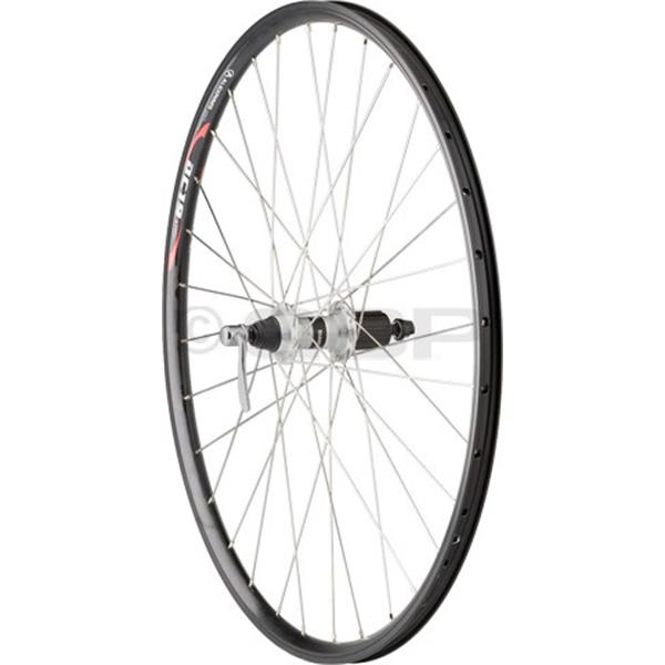 Dimension Value Series 2 Front Wheel Shimano Rm40 Silver / Alex Dc19 Bike Wheel Black 26In U.S.A. & Canada