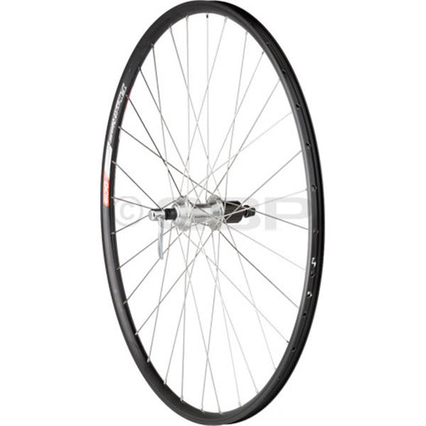 Dimension Value Series 2 Rear Wheel Shimano 2200 Silver / Alex Dc19 Bike Wheel Black 700C U.S.A. & Canada