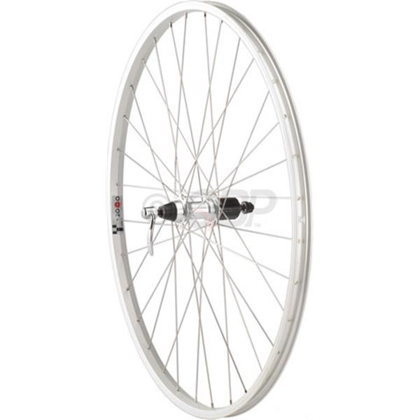 Dimension Value Series 1 Rear Wheel Formula 135Mm Freehub / Alex Y2000 Bike Wheel Silver 700C U.S.A. & Canada