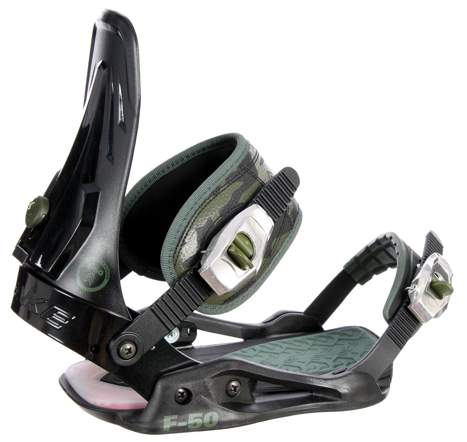 Drake Fifty Lobster Snowboard Bindings: Drake F50 Snowboard Bindings