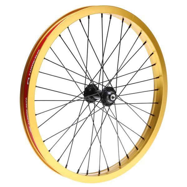 """Eastern Venus Front 36H Bmx Wheel Gold 20"""" U.S.A. & Canada"""