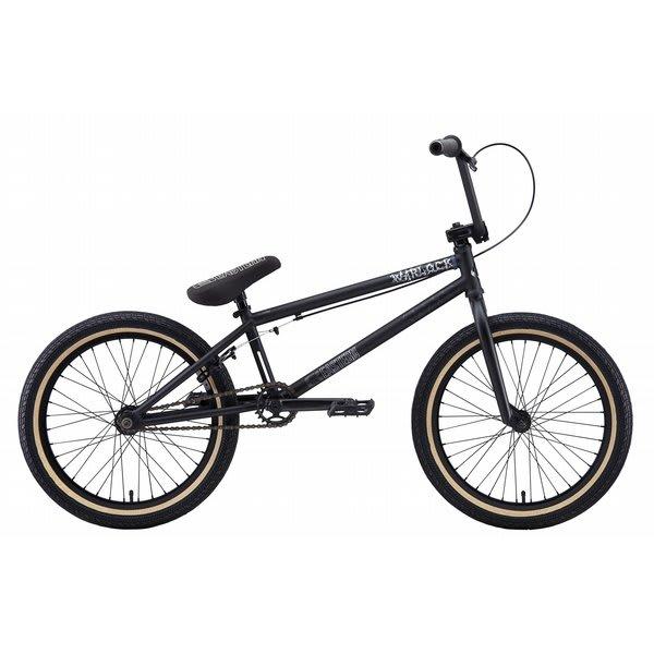 Eastern Warlock Bmx Bike Matte Black / Black 20In U.S.A. & Canada