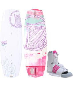 Liquid Force Angel Wakeboard w/ Alpha Bindings
