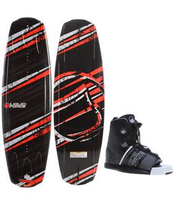 Liquid Force Stance Wakeboard O'Brien GTX Bindings
