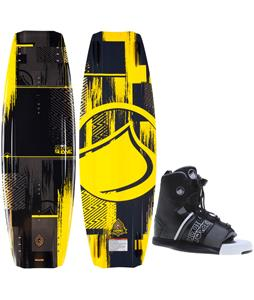 Liquid Force Shane Hybrid Wakeboard O'Brien GTX Bindings
