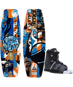 Liquid Force Shane Hybrid Wakeboard w/ Hyperlite Frequency Bindings