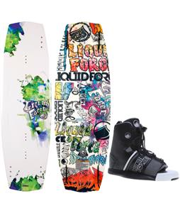 Liquid Force Super Trip Wakeboard O'Brien GTX Bindings