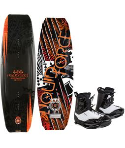 Liquid Force Tex Wakeboard w/ Ronix Frank Wakeboard Boots