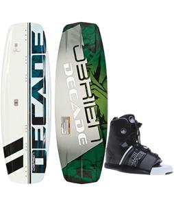 O'Brien Decade Wakeboard O'Brien GTX Bindings
