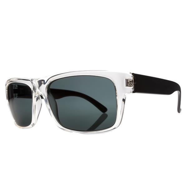 Electric Back Line Sunglasses Black Crystal / Melanin Grey Lens U.S.A. & Canada