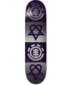Element BAM Heartagram Quad Skateboard Deck