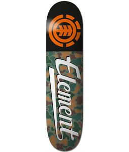 Element Jungle Script Skateboard Deck