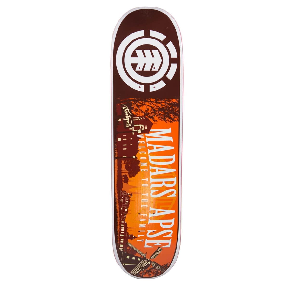 Skateboard Uses: Element Madars Welcome Skateboard Deck