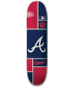Element MLB Atlanta Braves Square Skateboard Deck