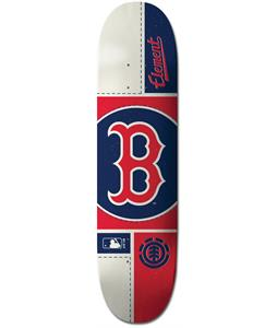 Element MLB Boston Red Sox Circle Skateboard Deck