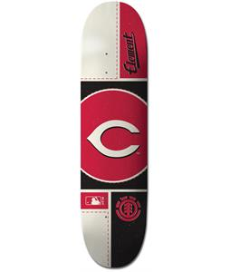 Element MLB Cincinatti Reds Circle Skateboard Deck