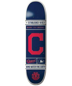 Element MLB Cleveland Indians Est. Skateboard Deck